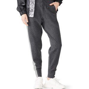 Derek Lam Knit Gray Wool Blend Sweatpants